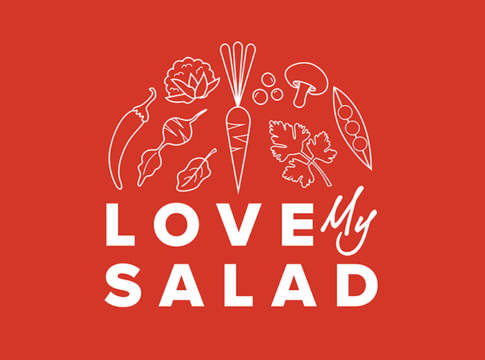 logo love my salad