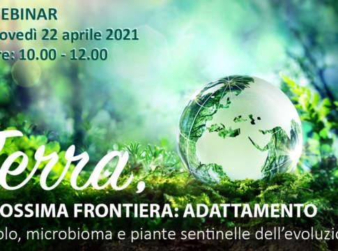 "Webinar ""Terra, prossima frontiera: adattamento"""