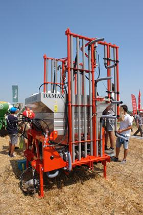 Damax spandiconcime dispositivo arresto motori lombardini for Vasca trasporto uva usata