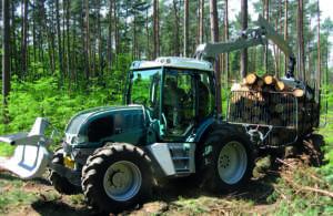PFANZELT MASCHINENBAU: 2380 4f (trattore forestale)