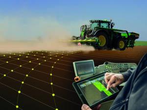 JOHN DEERE: Sistema automatico  di garanzia della qualità in campo  per seminatrici