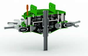 FENDT: Trasmissione integrale elettrica  su trattore 12555X