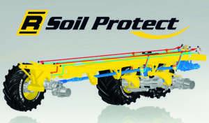 ROPA e MICHELIN: R-Soil Protect  - Controllo idraulico del telaio idraulico  con nuova tecnologia pneumatici  e solo 1,4 bar di pressione di gonfiaggio