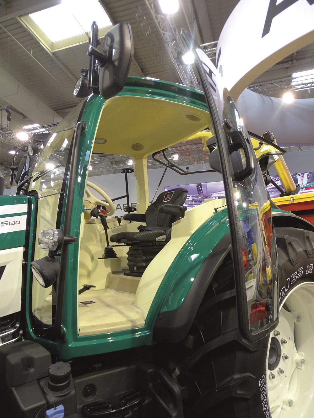Arbos debutta la serie 5000 for Piccoli interni rustici della cabina