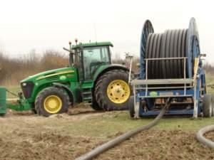 La distribuzione ombelicale dei reflui è stata scelta come soluzione a basso compattamento.