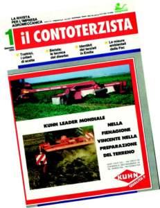 """Dal 1995 """"Il Contoterzista"""" diventerà organo ufficiale Unima."""