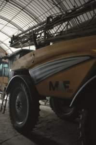 I trattamenti fitosanitari sono uno dei punti forti dell'azienda.