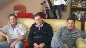 Da sinistra Daniele, Roberto e Andrea Mizioli.