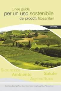 Linee Guida uso sostenibile fitosanitari Cover