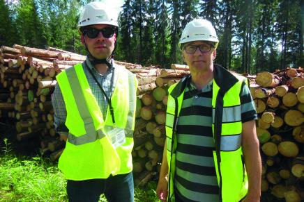 Metsäkone-Palvelu, obiettivo 2 milioni di metri cubi di legname da qui al 2018